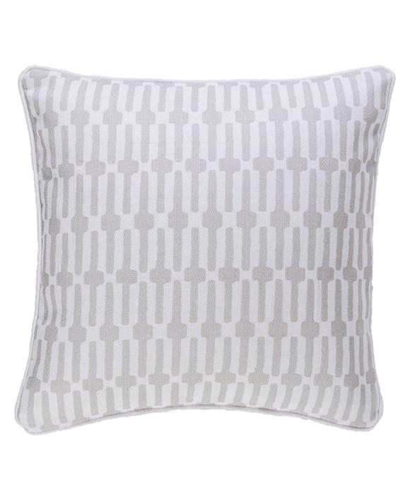 Almohadón Links Pearl Grey/White 51×51 cms