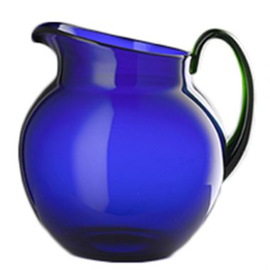 Jarra Pallina Royal Blue con Asa Verde