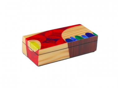 Caja Pencil de Laca Chloe Rex Ray