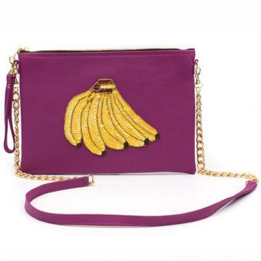 Bolso Colima Banana Rosa