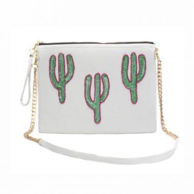 Bolso Sonora Cactus Blanco