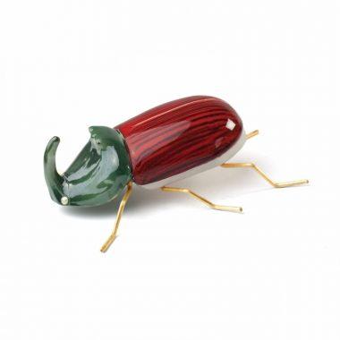 Escarabajo Rinoceronte Rojo