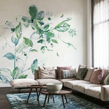 Mural Flower
