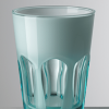 Vaso Double Face Turquesa