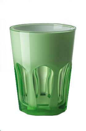 Vaso Double Face Verde