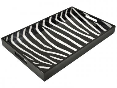 Bandeja Breakfast de Laca Zebra