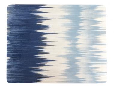 Set de 6 Individuales Lacados Mallorca Azul