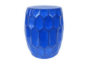 Tibor Porcelana Aretes Azul