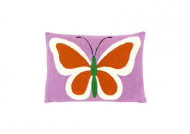 Almohadón Butterfly Lana 40×30 cms