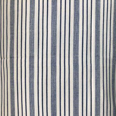 Almohadón Blue y off-white