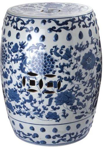 Tibor Porcelana Azul Lotus