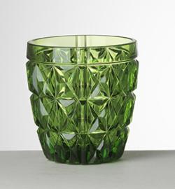 Vaso Stella Acqua Verde acrílico