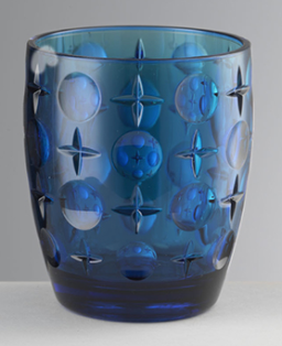 Vaso Super Star Azul Petróleo acrílico