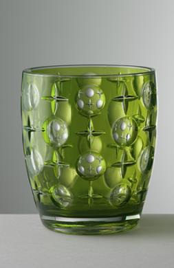 Vaso Super Star Verde acrílico