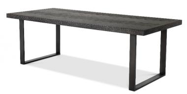 Mesa de comedor rectangular Melchior 230 cm carbón