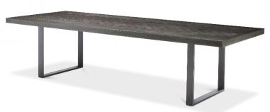 Mesa de comedor rectangular Melchior 300 cm carbón