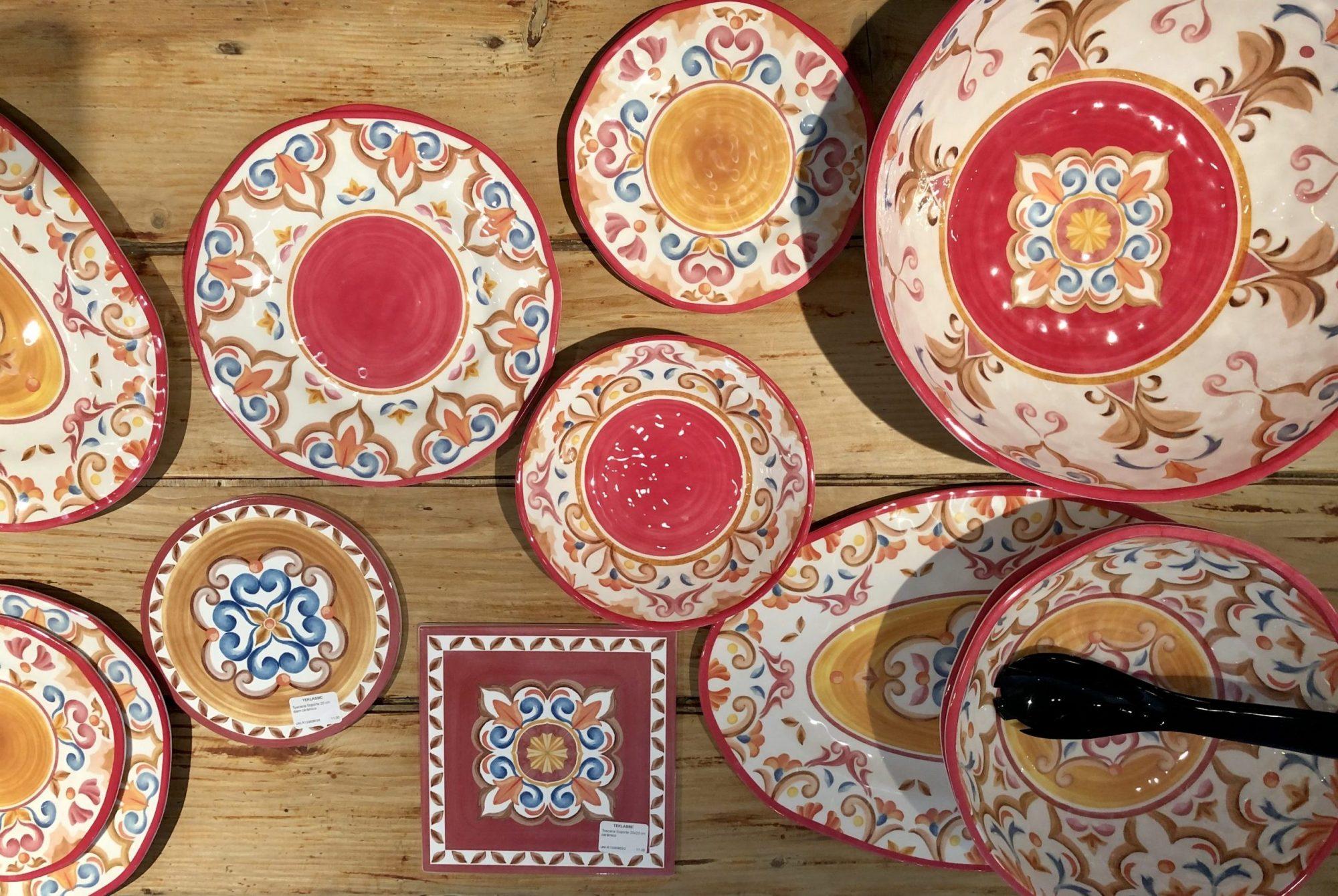 Colección de melamina