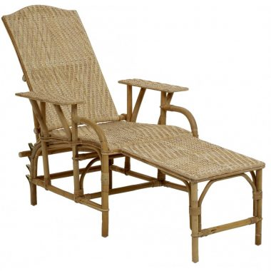 Chaise Longue Grand Mere Rattan natural – 4 posiciones