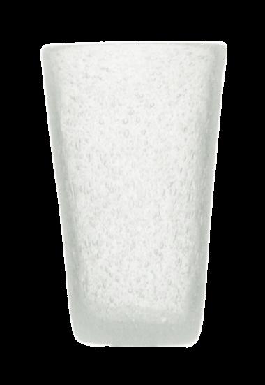 Momento Vaso Alto de vidrio Blanco