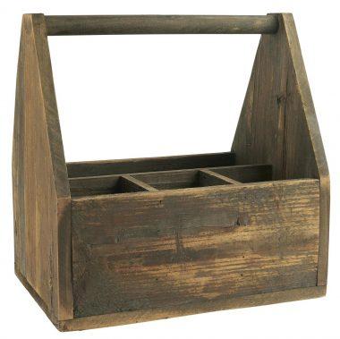 Basket con 4 compartimentos