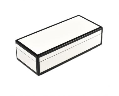 Caja Pencil Blanca/Negra