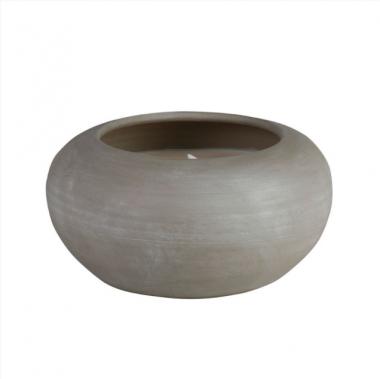 Vela Pot Grande Citronela/Pepino Gris Anti-mosquito Exterior