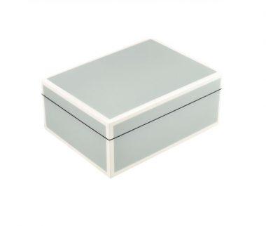 Caja Medium Cool Gris/Blanco